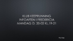 Info aften i Fredericia